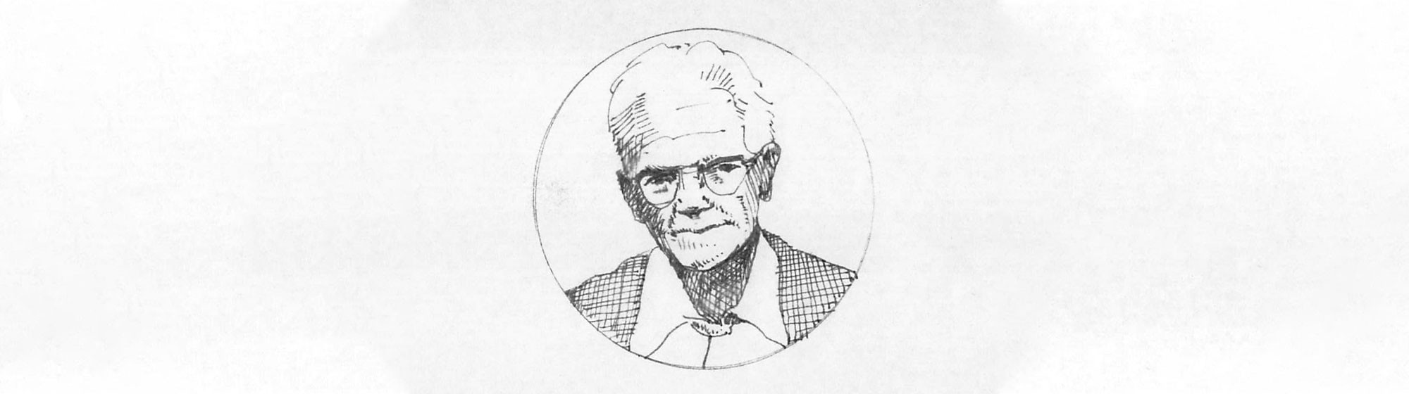 drawing of Wendell Gilley